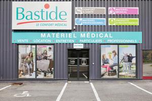 Façade du magasin Bastide Annemasse